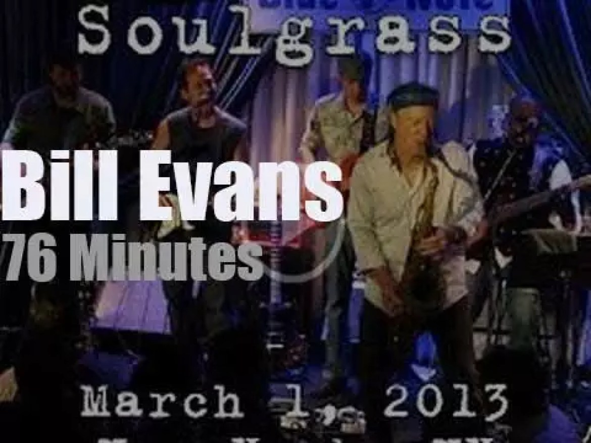 Bill Evans takes Soulgrass to NYC (2013)