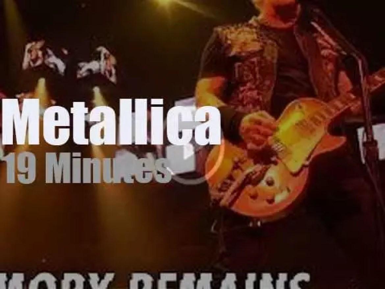 Metallica serenade Wichita, Kansas (2019)