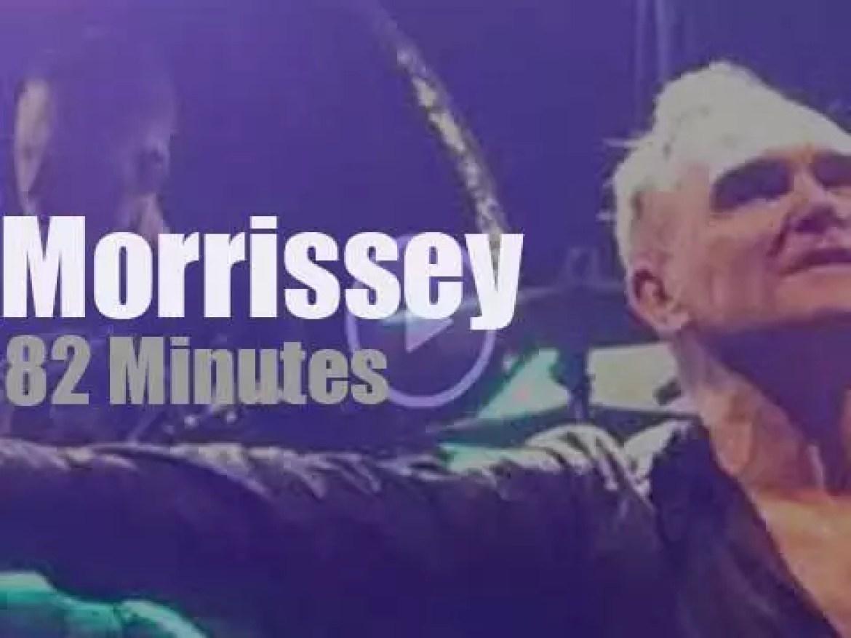 Morrissey comes to Birmingham (2018)