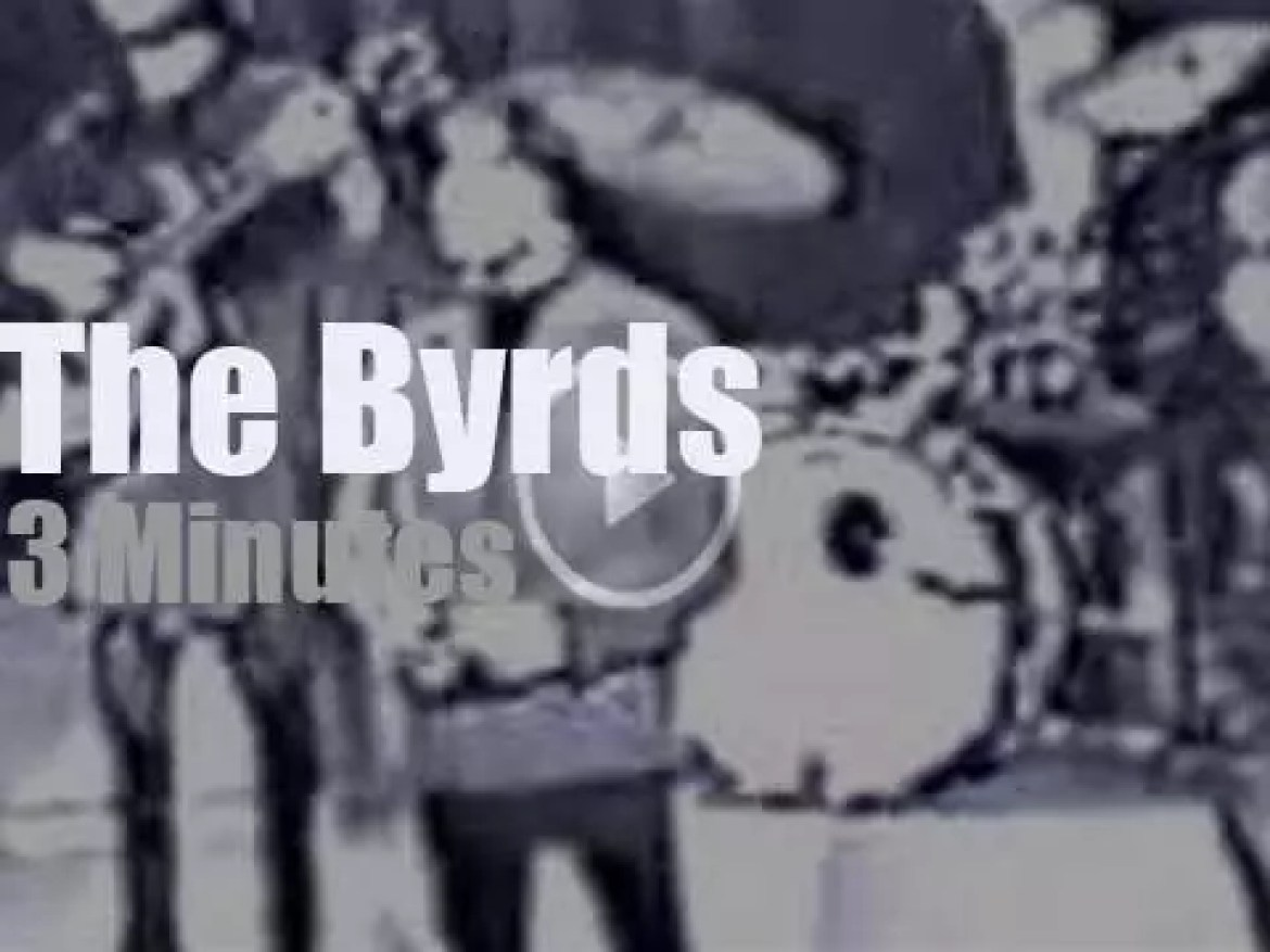 On TV Today, The Byrds At 'Shivaree' (1966)