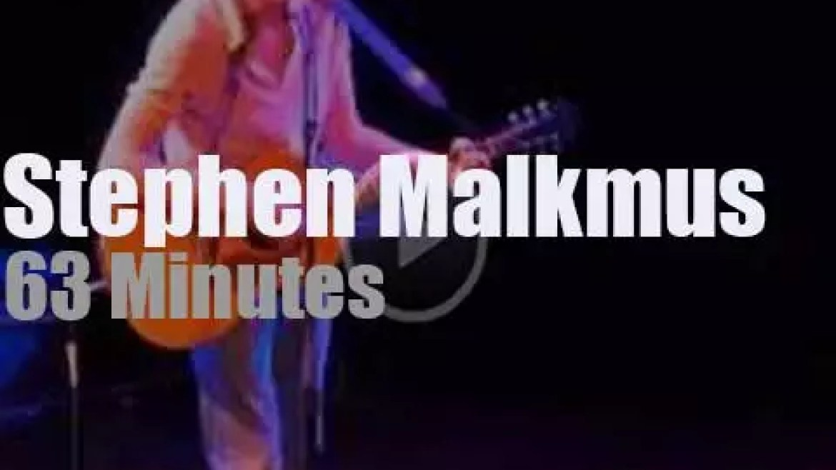 Stephen Malkmus does it solo and accoustic  in San Francisco (2009)