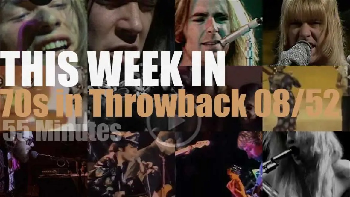 This week In '70s Throwback' 08/52