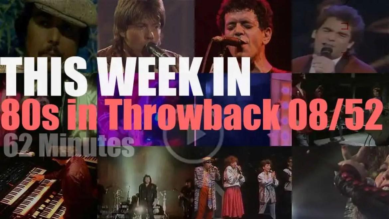 This week In '80s Throwback' 08/52