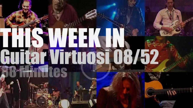 This week In Guitar Virtuosi 08/52