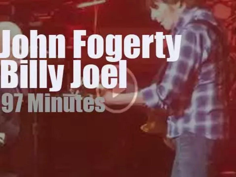 Billy Joel & John Fogerty duet at the Garden (2019)