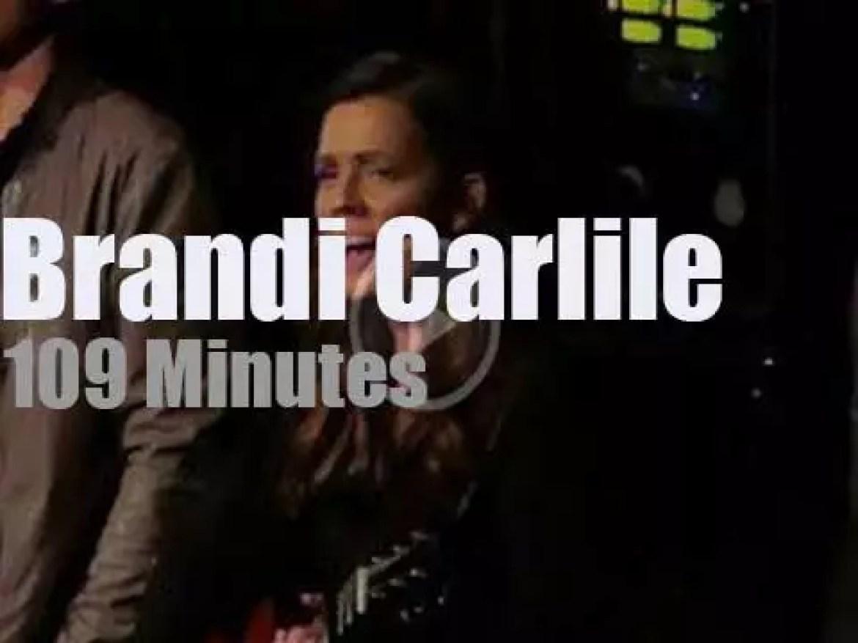 Brandi Carlile visits New York, (2018)