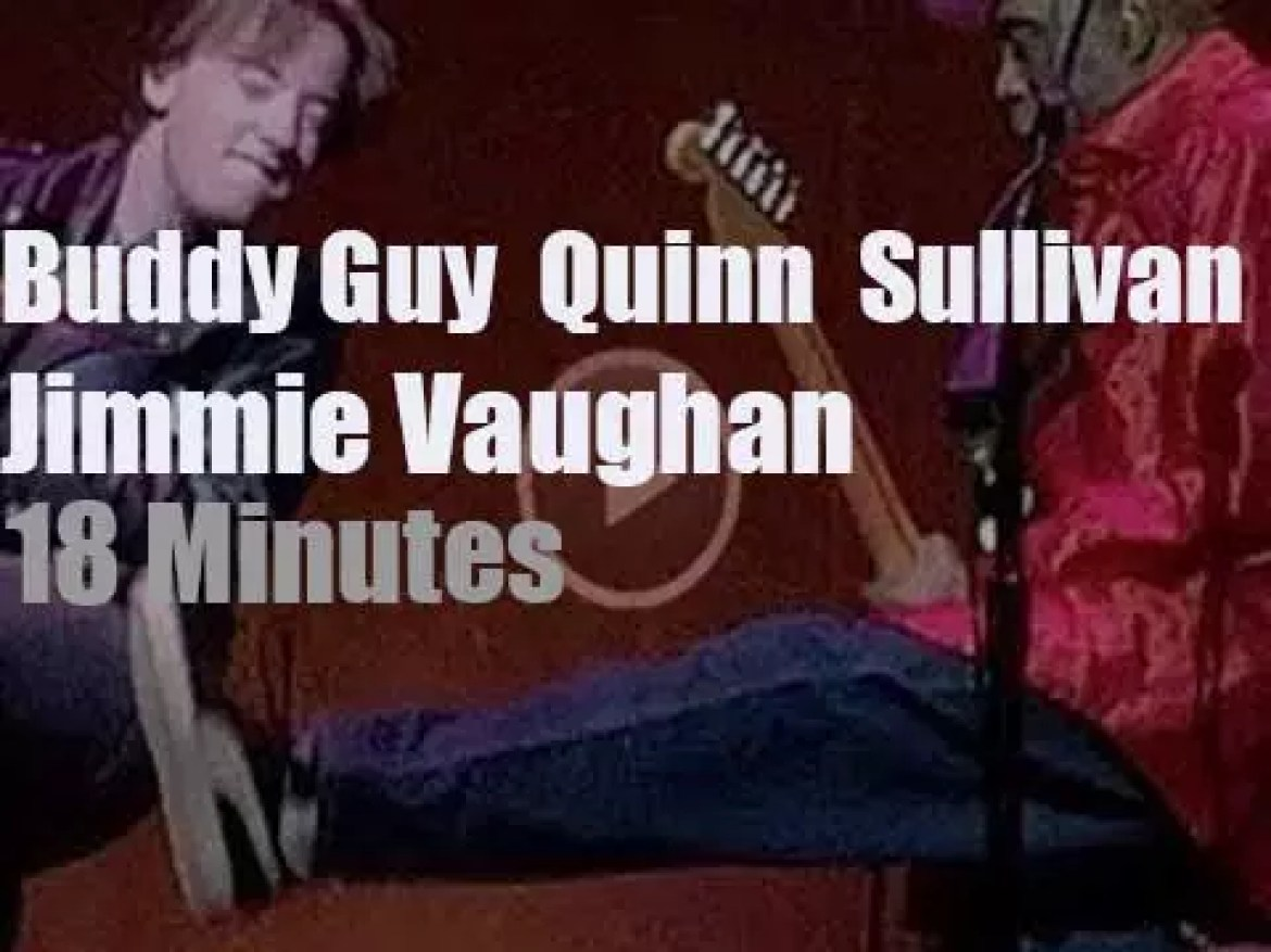 Buddy Guy, Quinn Sullivan and Jimmie Vaughan join forces (2018)