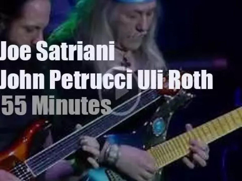 Joe Satriani, John Petrucci, Uli Roth Holland are G3 (2018)