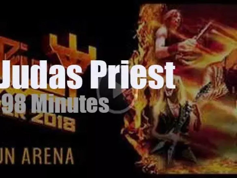 Judas Priest open a world tour (2018)