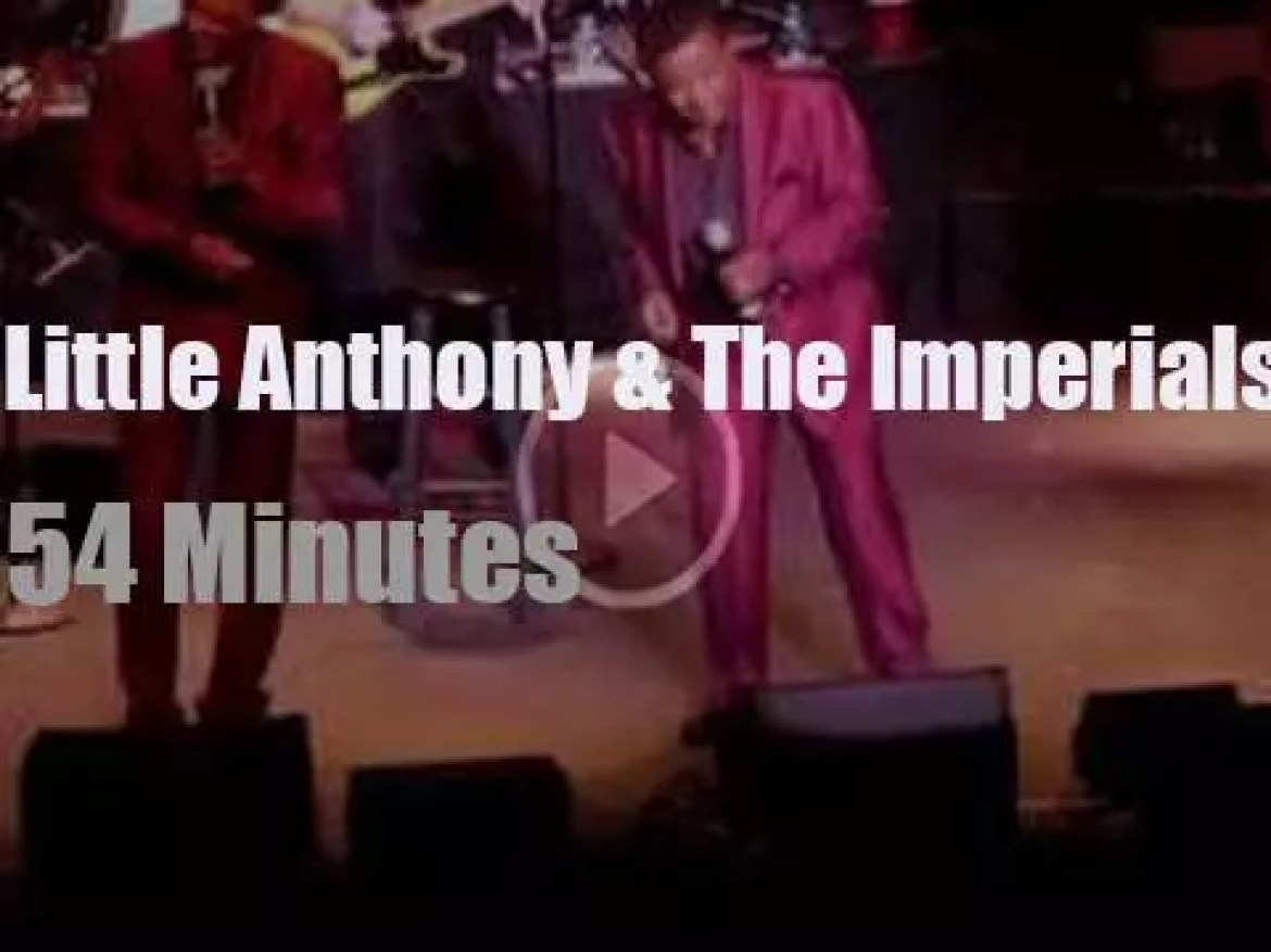 Little Anthony & The Imperials are still kicking (2017)