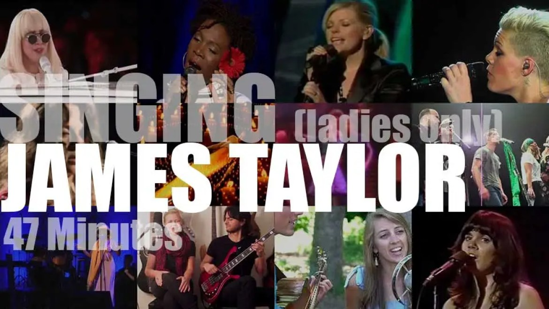 Singing (Ladies Only)  James Taylor