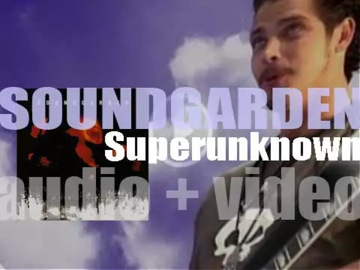 A&M Records publish Soundgarden's fourth album 'Superunknown' featuring 'Spoonman' and 'Black Hole Sun' (1994)