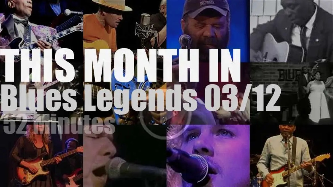 This month In Blues Legends 03/12