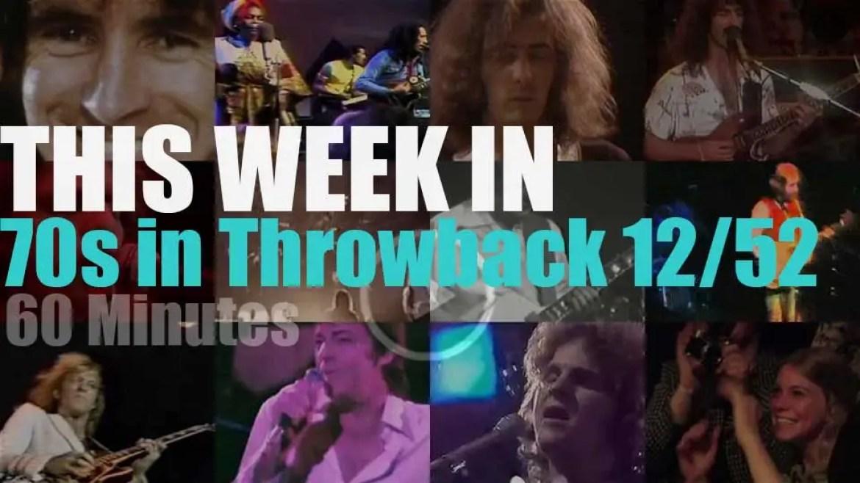 This week In  '70s Throwback' 12/52