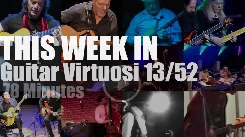 This week In Guitar Virtuosi 13/52