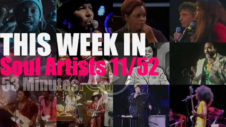 This week In Soul Artists 11/52
