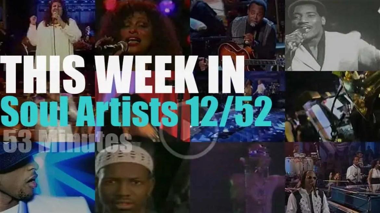 This week In Soul Artists 12/52