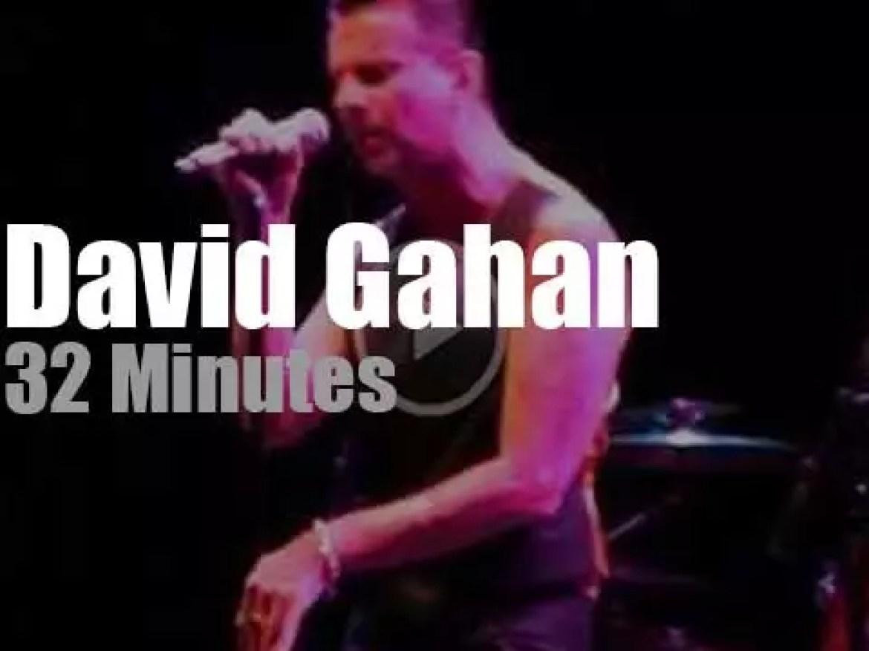David Gahan performs (and receives an award) for 'MusiCares' (2011)