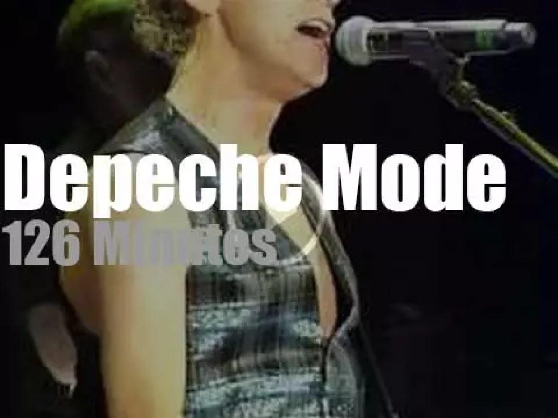 Depeche Mode warm up in Nice  (2013)