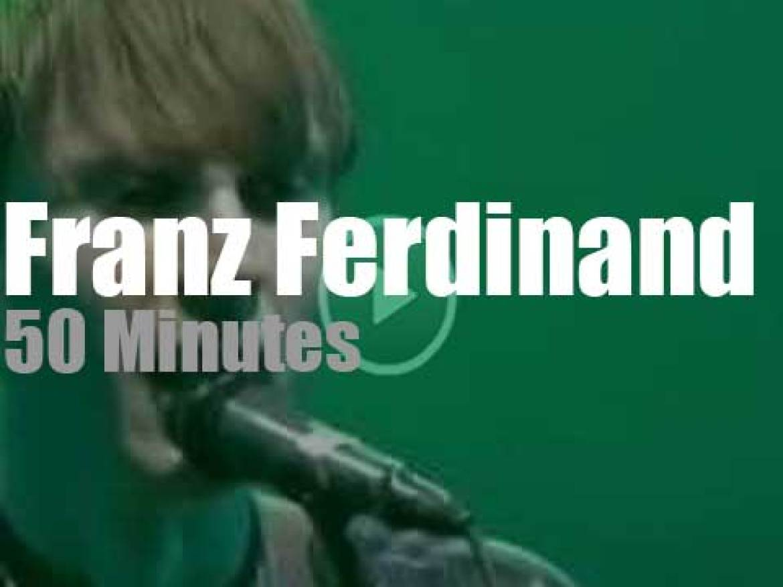 Franz Ferdinand attend a French spring festival (2004)