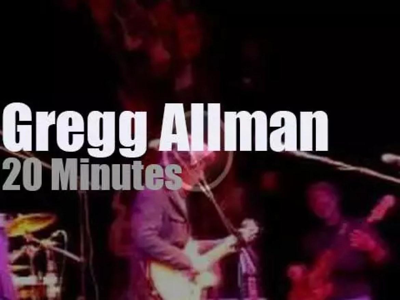 Gregg Allman perfoms in Columbus (2011)