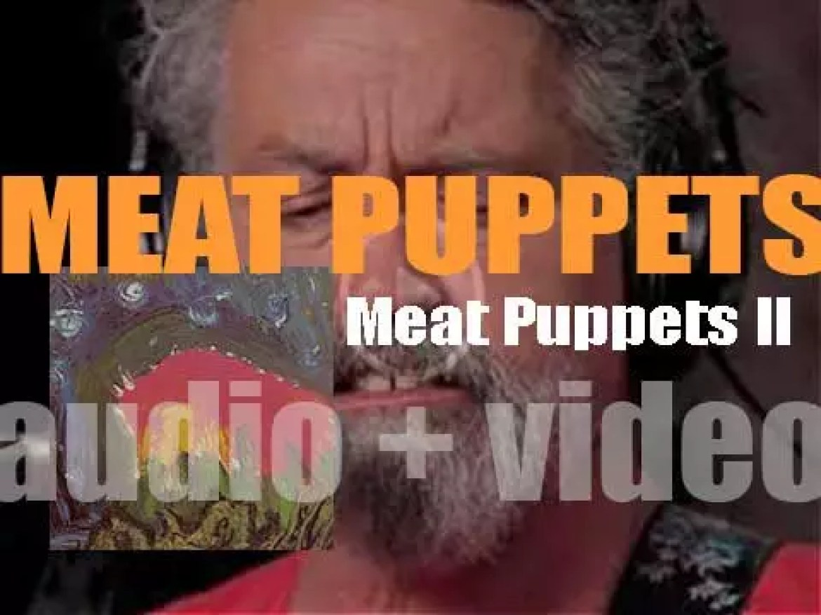 Meat Puppets release 'Meat Puppets II' their second album (1984)