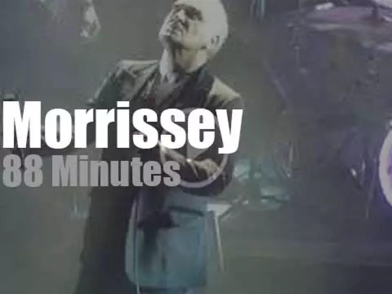 Morrissey opens his Broadway residency (2019)
