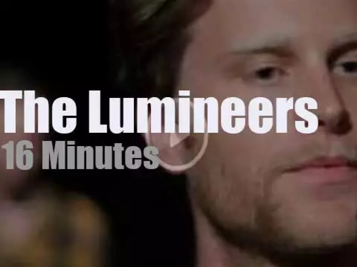 On the web today, The Lumineers at 'HearYa Live Session' (2012)