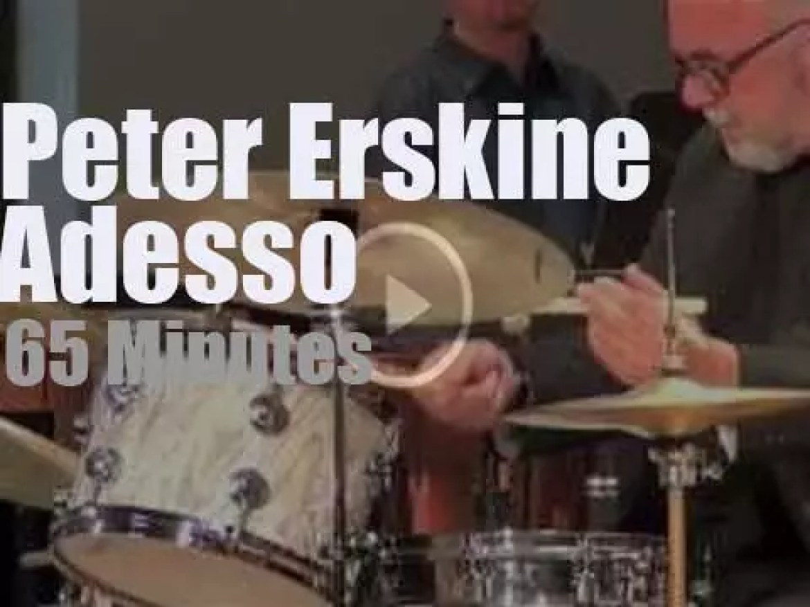 Peter Erskine sits in with Adesso (2013)