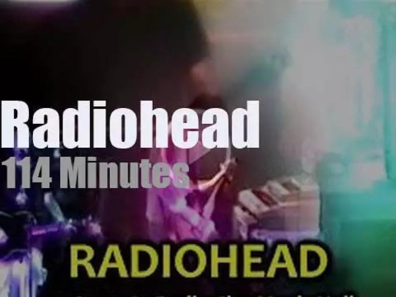 Radiohead close the 'OK Computer' tour (1998)