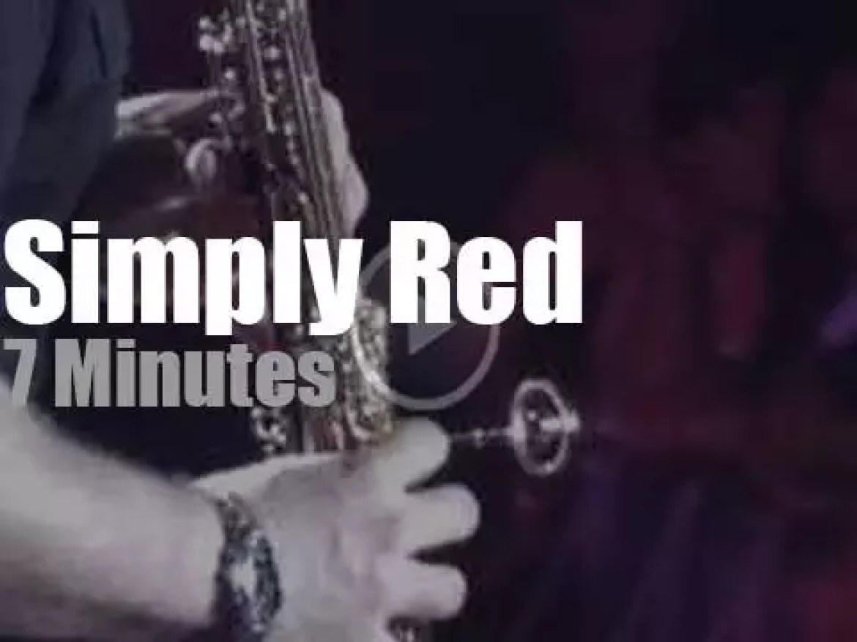 Simply Red wave 'Farewell' to Rio de Janeiro (2010)