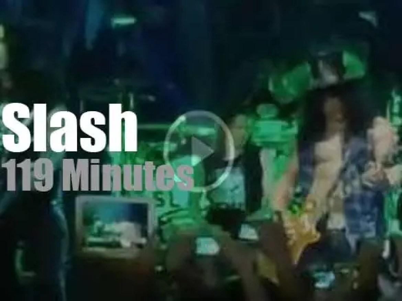 Slash travels to Philippines. (2013)