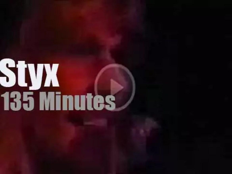 Styx take their 'Paradise Theater' to Maryland (1981)