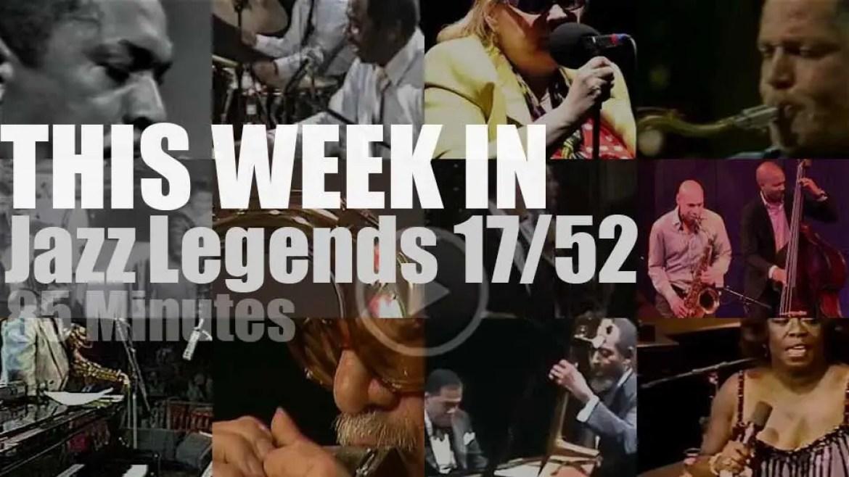 This week In Jazz Legends 17/52