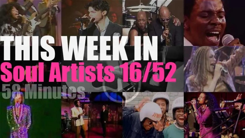 This week In Soul Artists 16/52