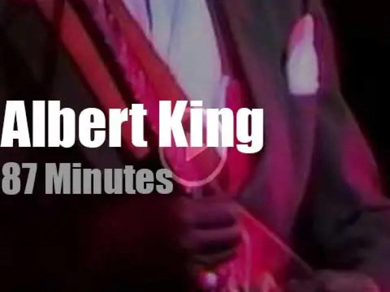 Albert King bluesifies New Jersey (1988)