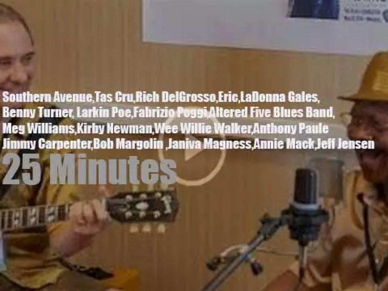 Bob, Janiva  et al attend the Blues Music Awards (2018)