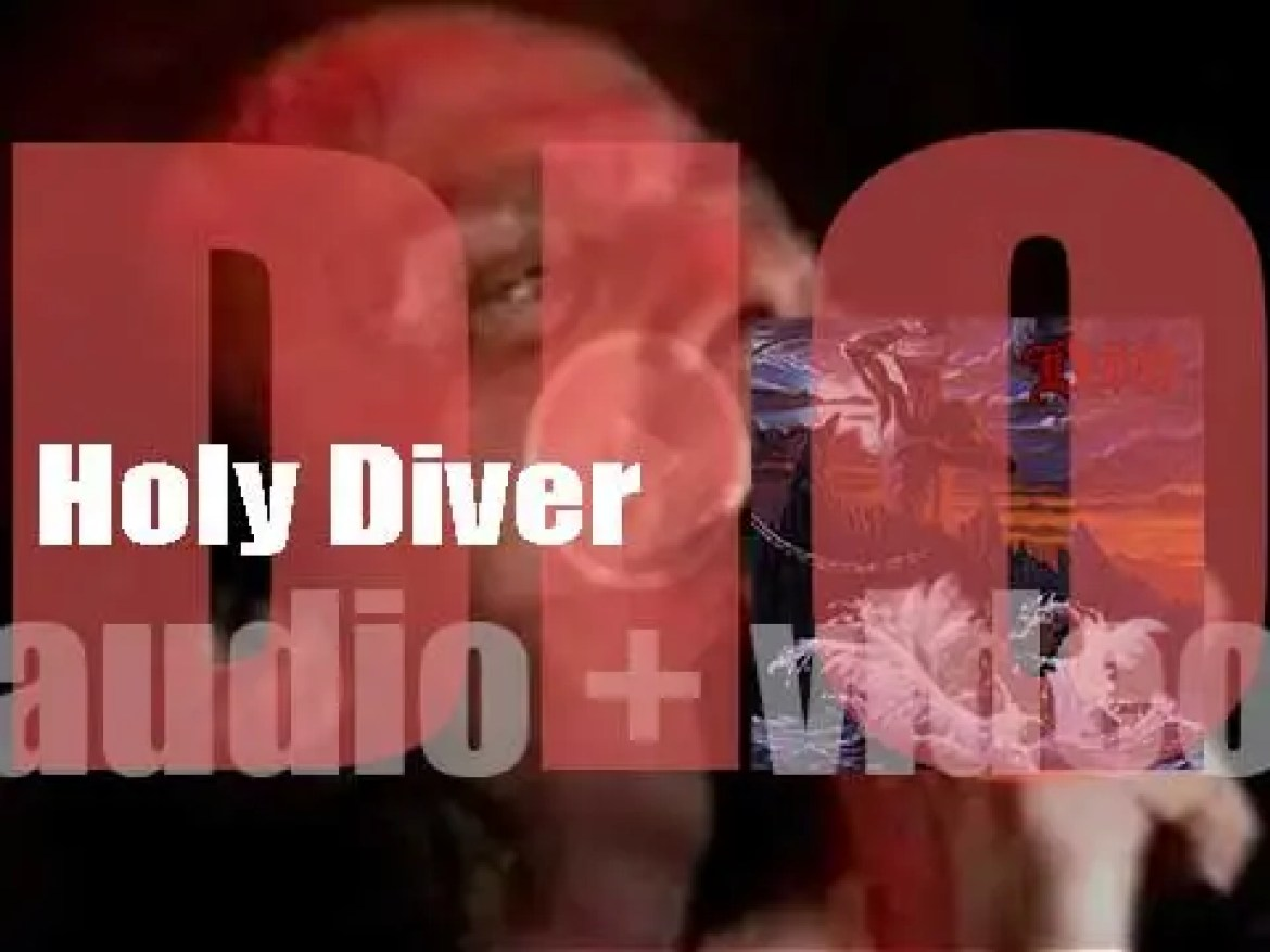 Warner Bros. publish Dio's debut  album : 'Holy Diver'  produced by Ronnie James Dio (1983)