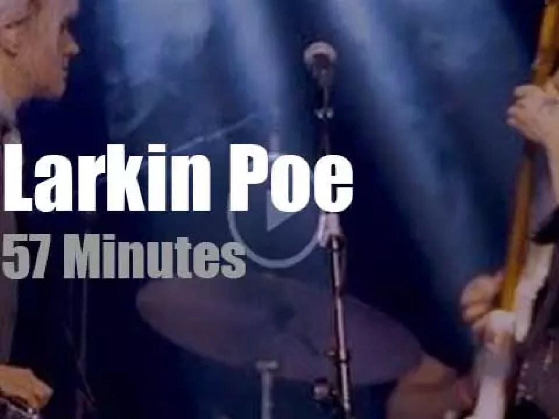 Larkin Poe visit North Carolina (2019)