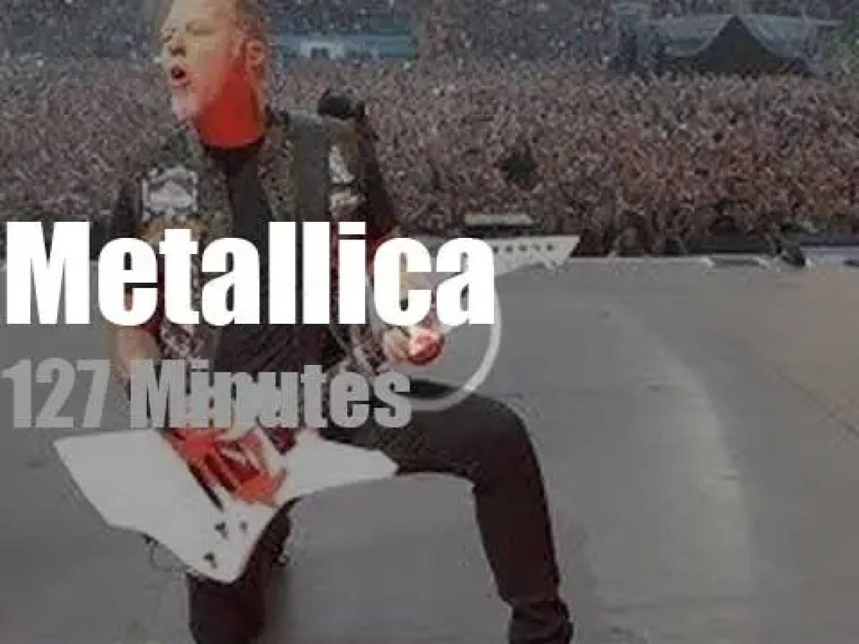Metallica serenade Munich (2015)