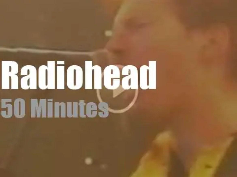 Radiohead headline at Pinkpop (1996)
