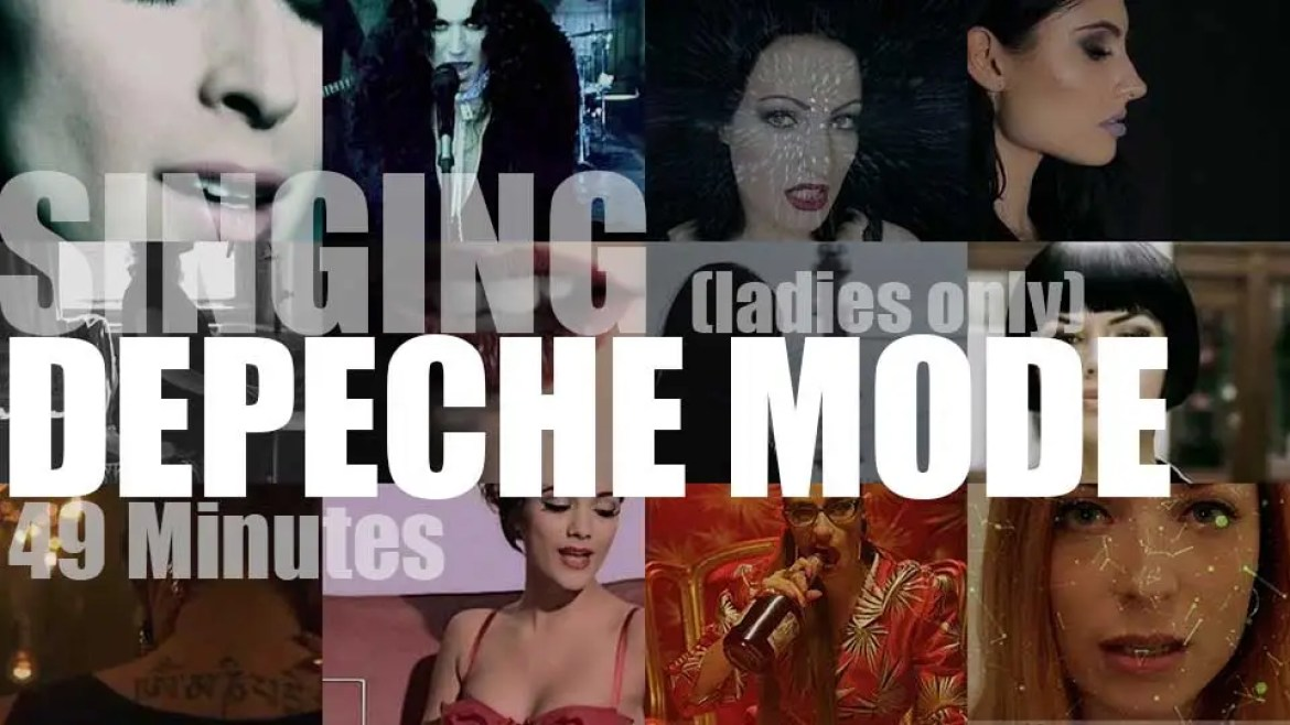 Singing (Ladies only)  Depeche Mode