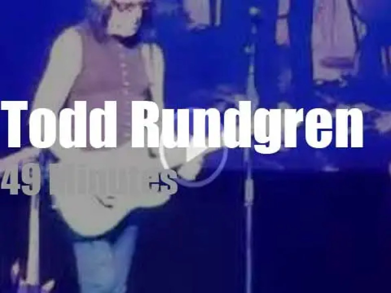 Todd Rundgren rock Connecticut (2016)
