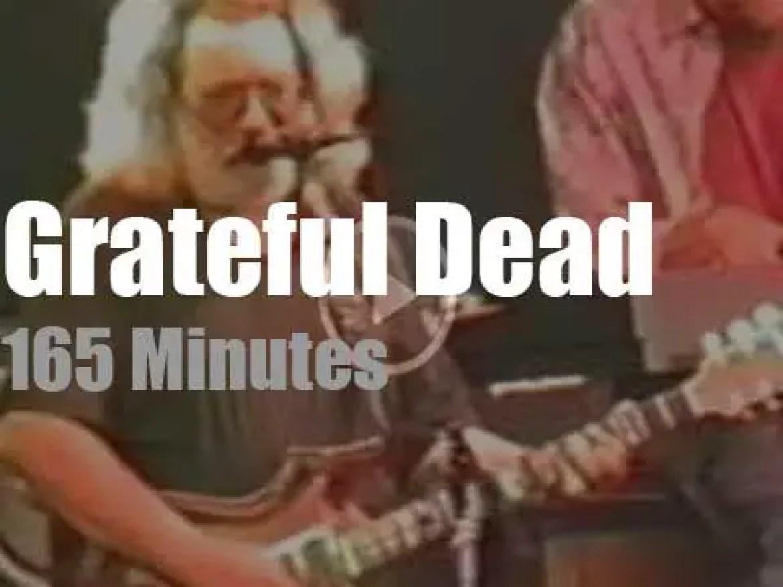 Grateful Dead travel to Ohio (1991)