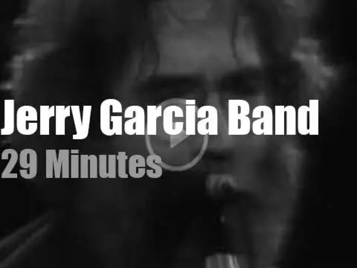 Jerry Garcia and his Band  travel to New-Jersey (1982)