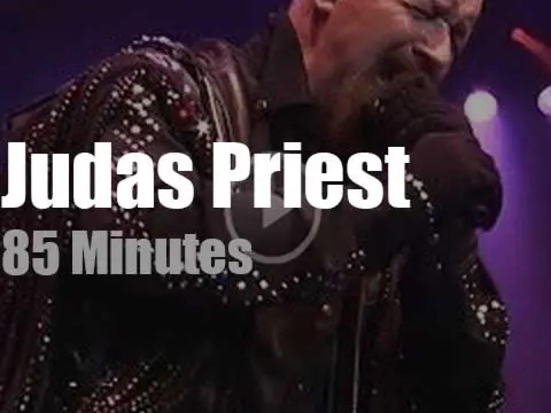 Judas Priest launch their 'Firepower' in Florida (2019)