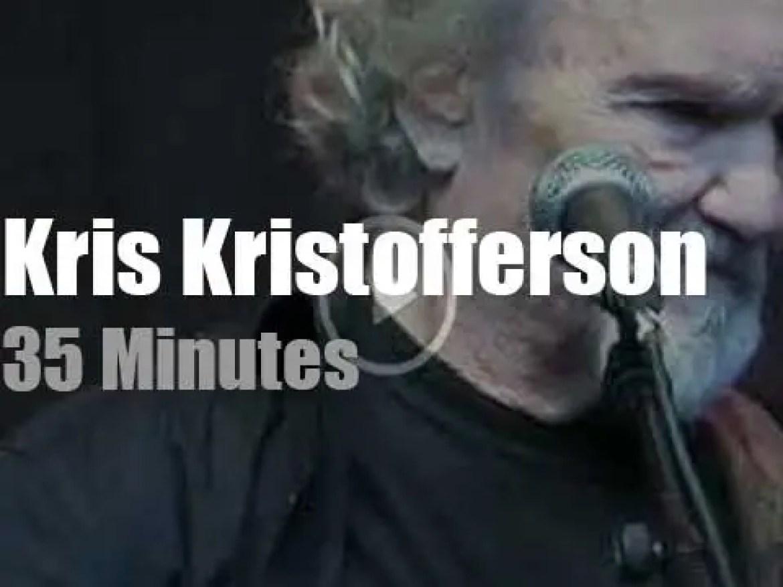 Kris Kristofferson takes The Strangers to Leipzig  (2019)