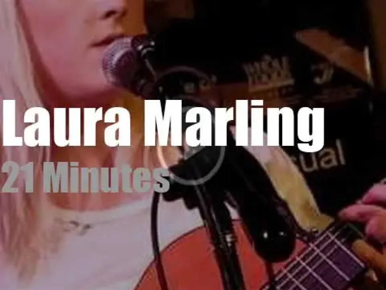 Laura Marling sings in NYC (2011)