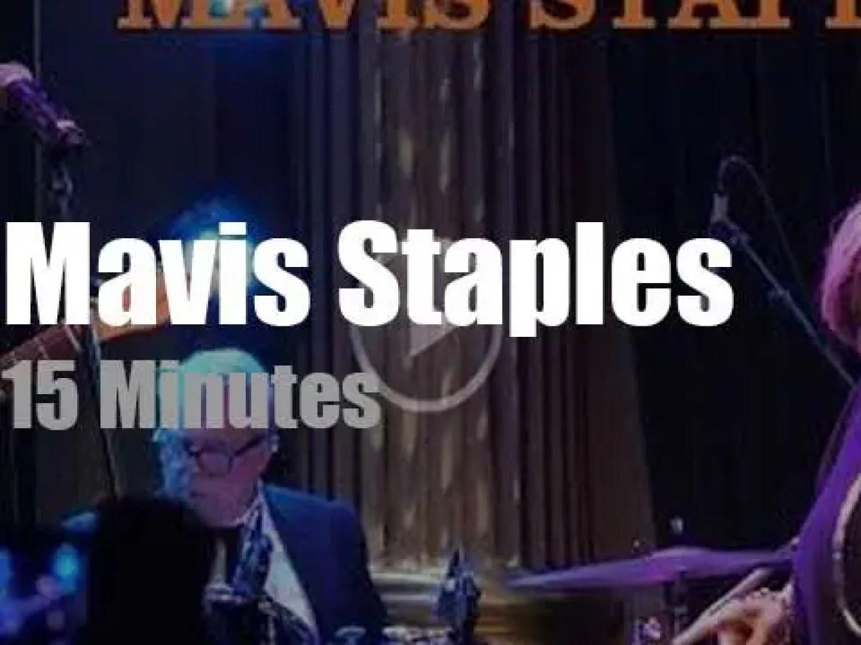 Mavis Staples 'gets by' in Stockholm (2019)