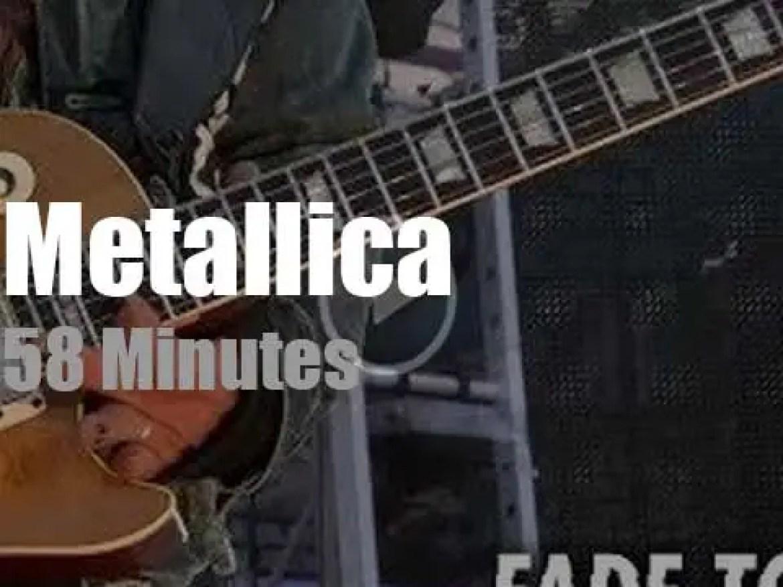 Metallica serenade Brussels (2019)
